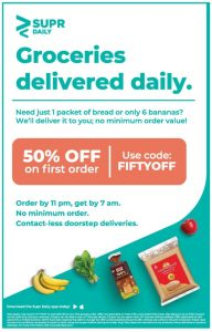 SUPRDaily Groceries Print Ad