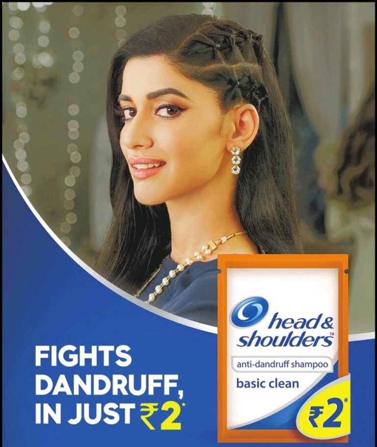 Head and Shoulders Ad